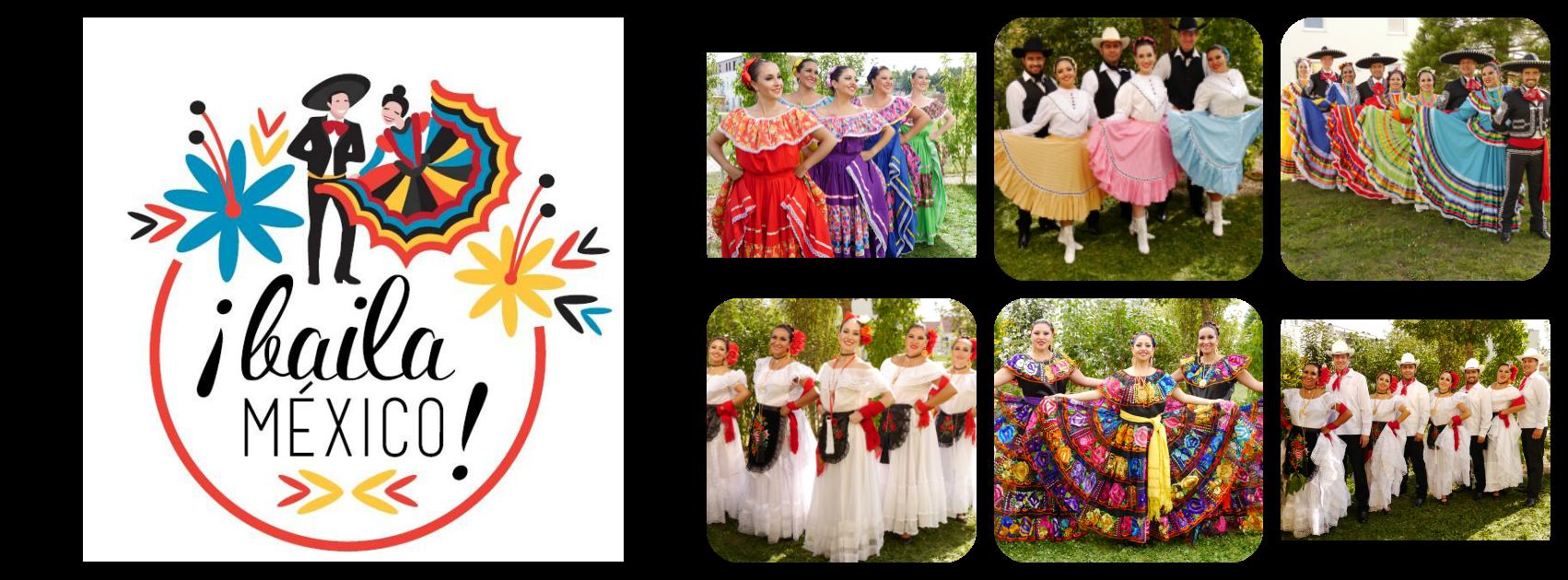 ¡Baila México! Logo
